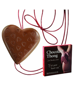 Heart Shaped Chocolate Thong for Her ~ EL-7353