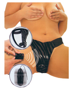 Fetish Fantasy Series Plus Size Remote Control Fantasy Panty ~ PD3450-00