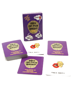 Sex On The Brain Card Game ~ XBC016