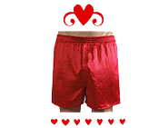 Valentine Underwear For Him